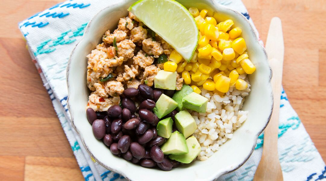 Loaded Turkey Taco Bowl