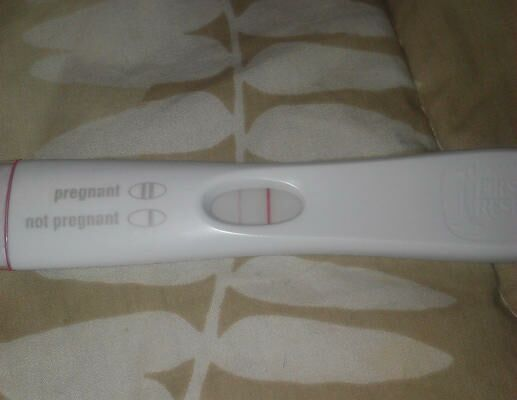 how to get a pregnancy test to say positive