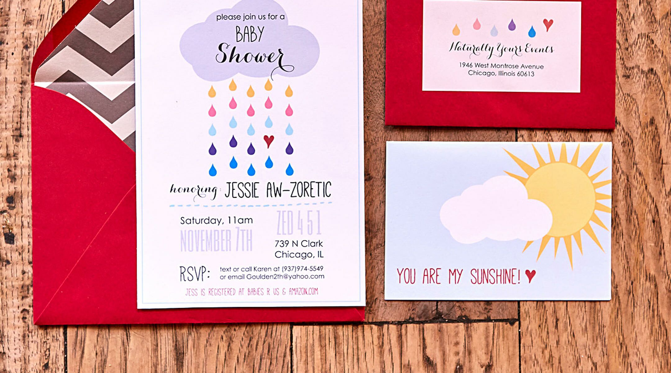 When to Send Out Baby Shower Invitations