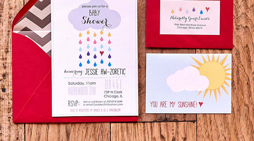 When to send out baby shower invitations filmwisefo Gallery