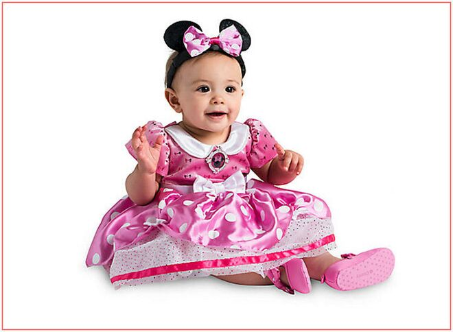 baby-halloween-costumes-girl-minnie-mouse  sc 1 st  The Bump : 9 month old halloween costume  - Germanpascual.Com