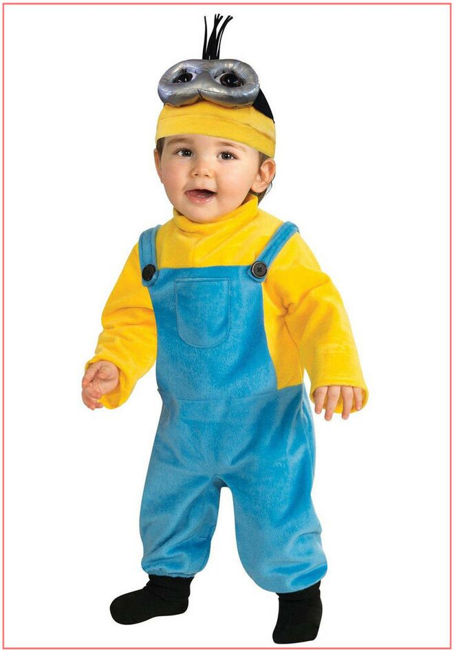 toddler-halloween-costume-funny-minions  sc 1 st  The Bump & Best Toddler Halloween Costumes 2017