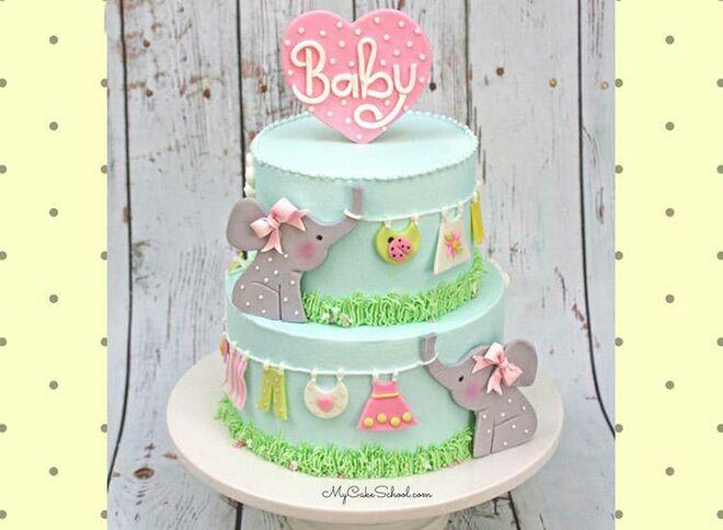 elephant-clothesline-cake-