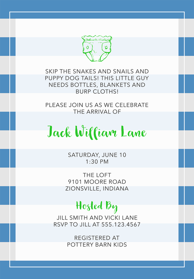 22 baby shower invitation wording ideas baby shower invitation wording 3 filmwisefo Images