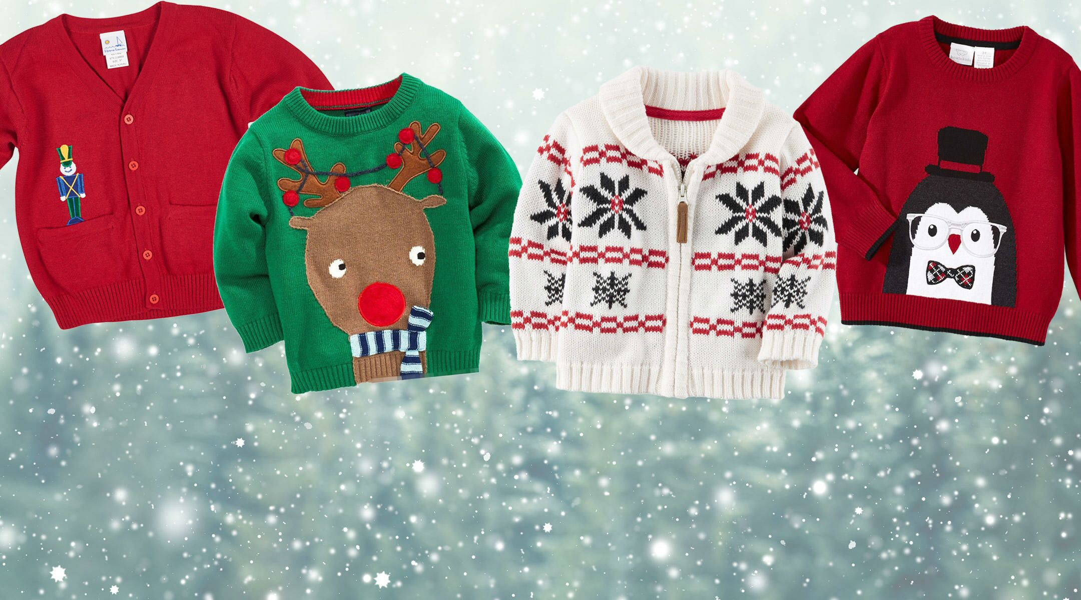 16 Baby Ugly Christmas Sweaters Too Cute Not To Wear