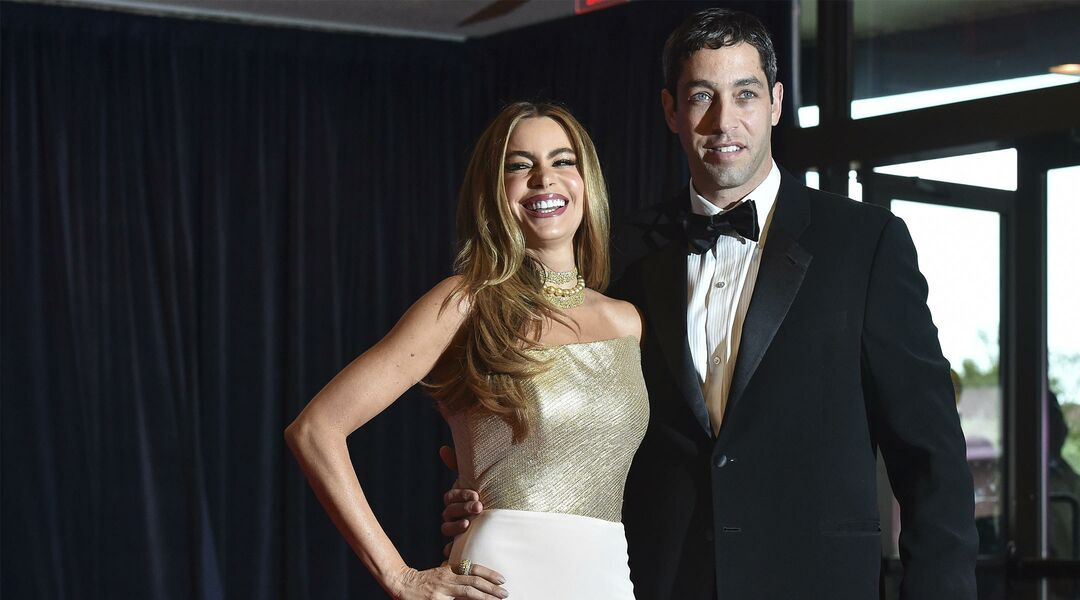Sofía Vergara and Nick Loeb at 2014 White House Correspondents' Dinner