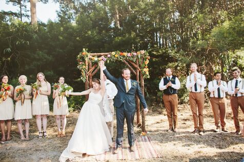 Nelly & Michael's Rustic Woodland Wedding