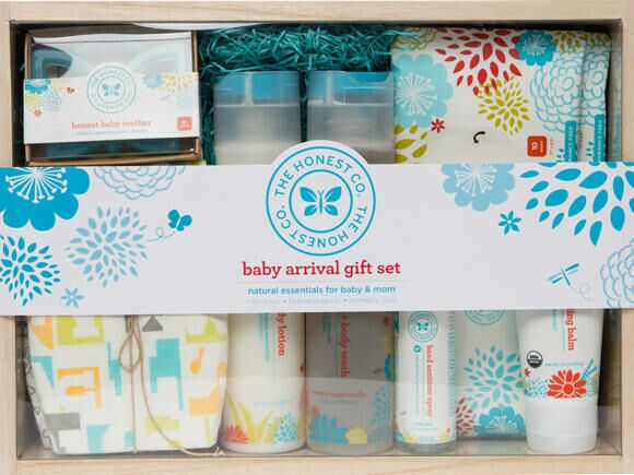 57 baby shower gift ideas honest baby arrival gift set 580x435 negle Images