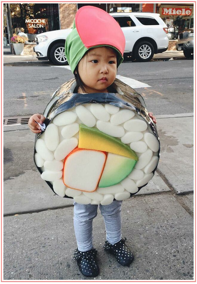 toddler-hallowen-costumes-unique-sushi  sc 1 st  The Bump & Best Toddler Halloween Costumes 2017