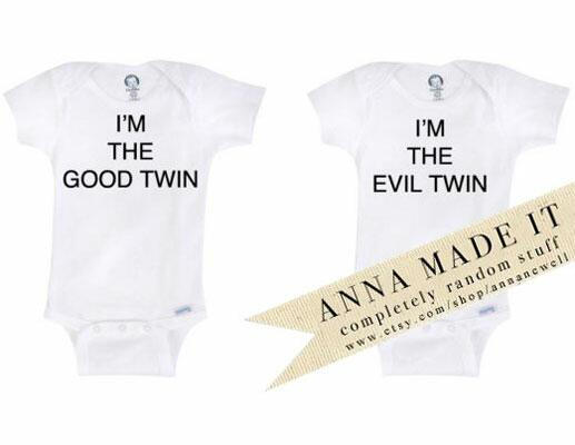 8 Awful Onesies for Twins