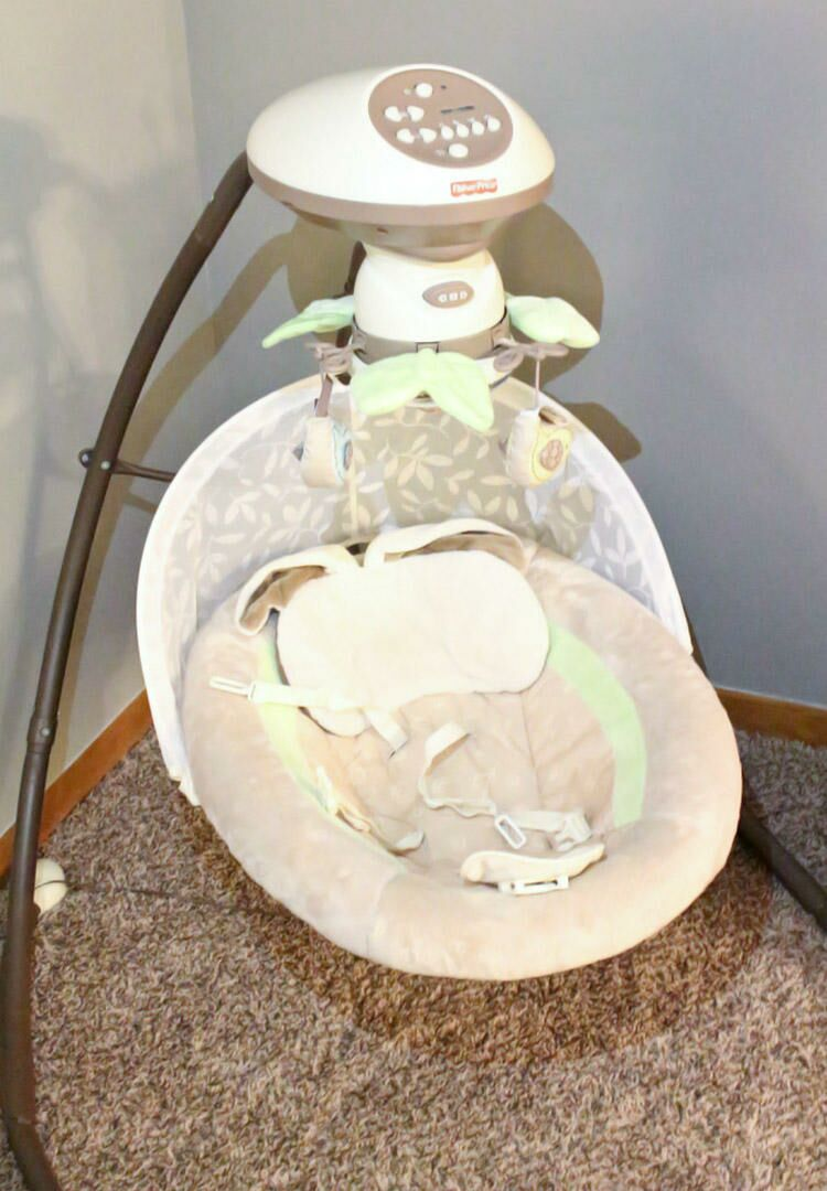 Fisher-Price My Little Snugabunny Cradle 'N Swing With SmartSwing  Technology Review