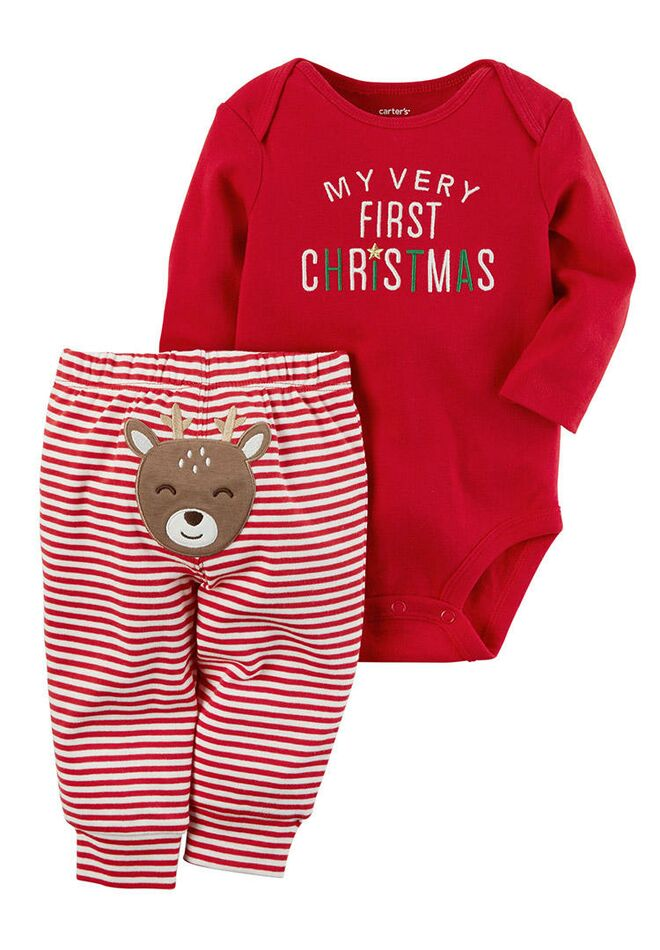 baby first christmas baby girl pajamas