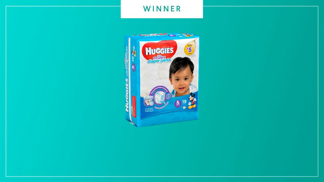 Huggies diaper pants