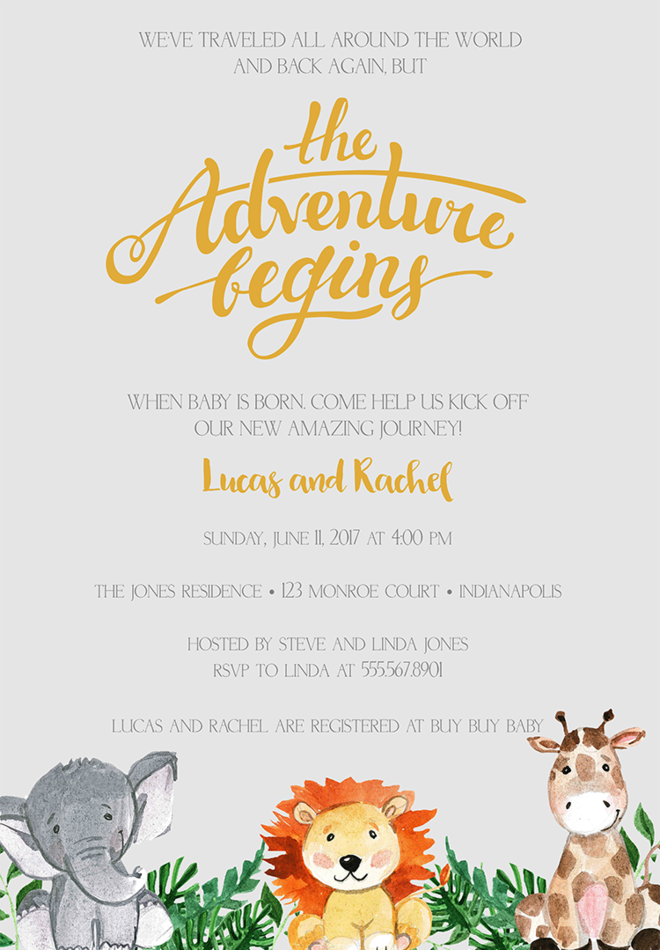 Delightful Coed Baby Shower Invitation Wording U2013 3 On Baby Shower Invitations Words