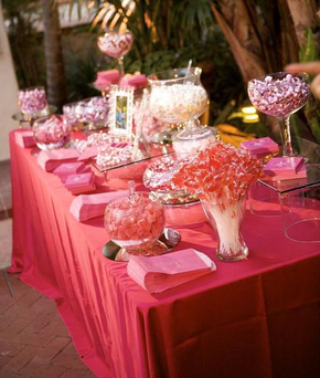 Pink Barbie Glamour! Bling Wedding In Santa Barbara