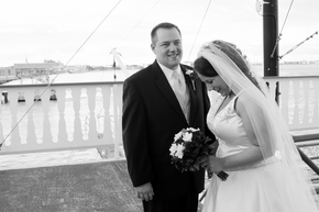 A Riverboat Wedding!