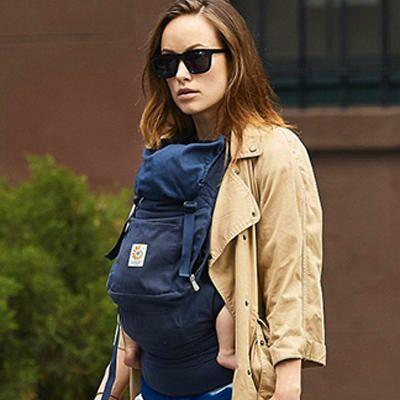 Get the Look: Olivia Wilde Babywearing