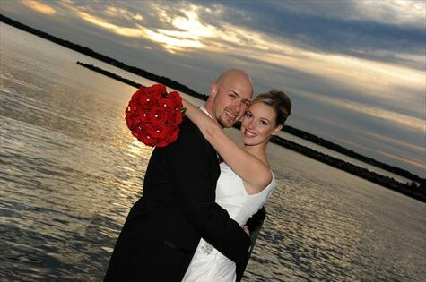 Fall Wedding on the Water