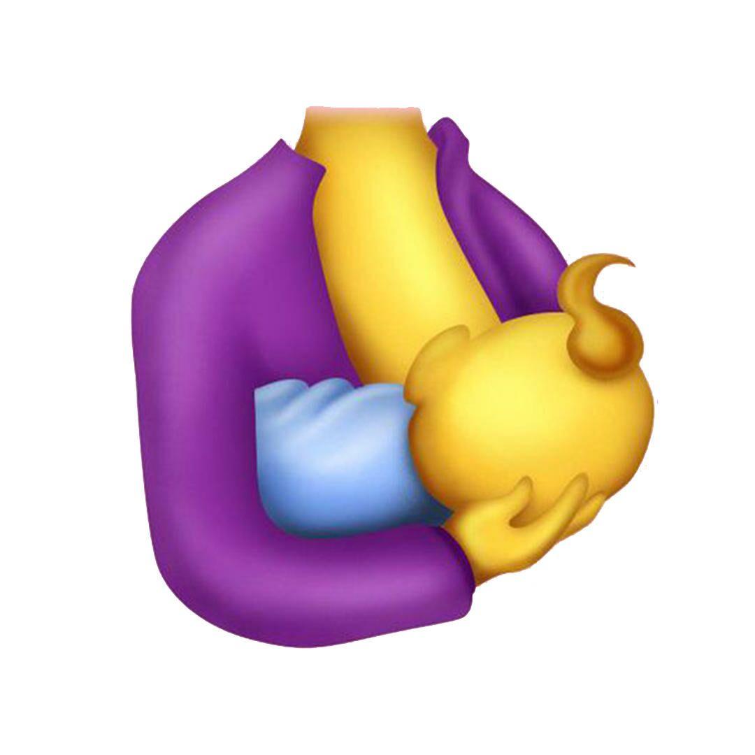 breastfeeding mom emoji