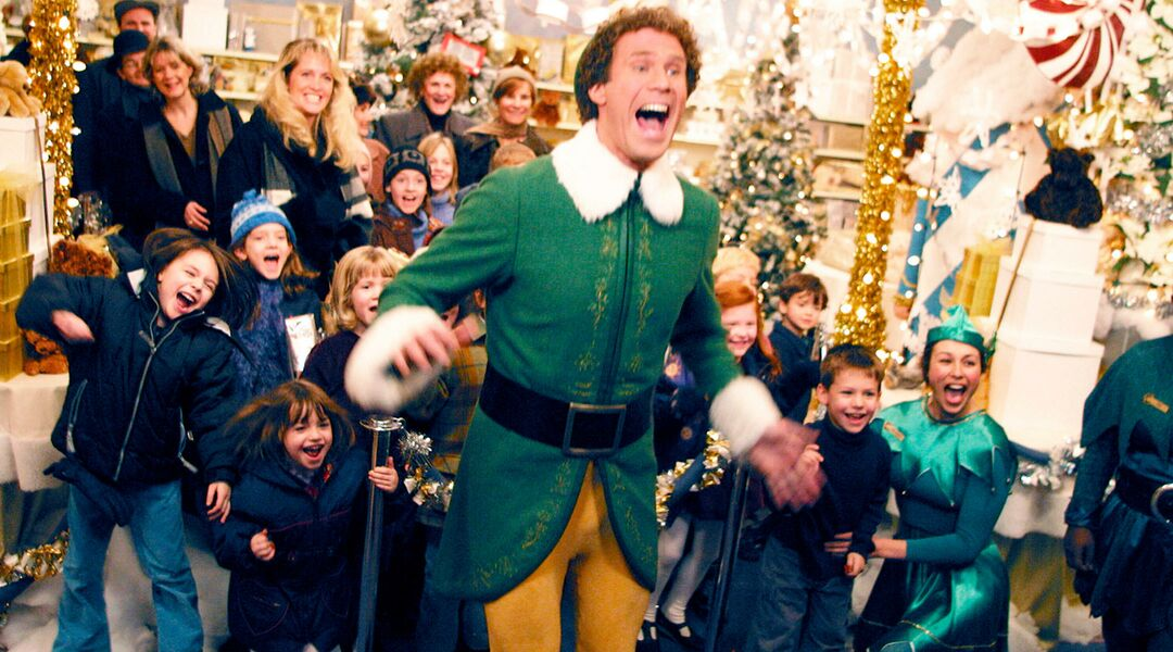 will ferrell in the kids christmas movie elf - Best Christmas Movies For Toddlers