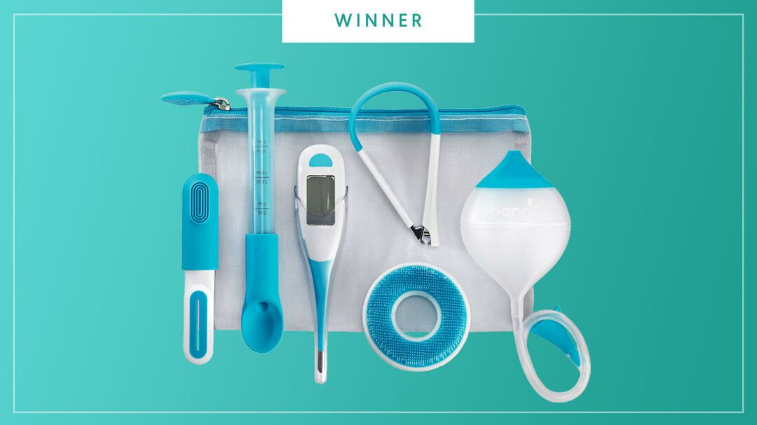 The Boon Care Kit wins the 2017 Best of Baby award from The Bump