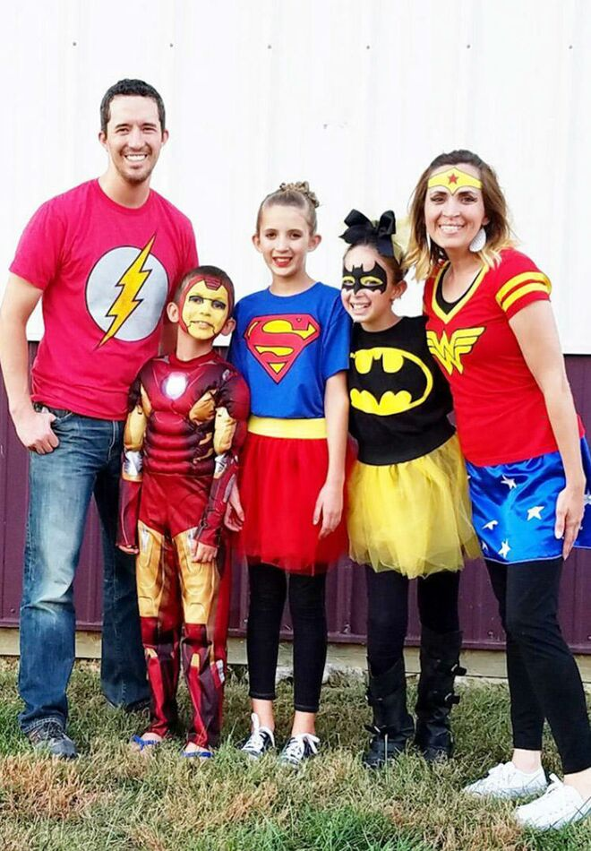 family-halloween-costumes-superhero  sc 1 st  The Bump & 31 Best Family Halloween Costumes Ideas for 2017