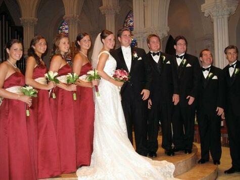 Rebecca faust wedding