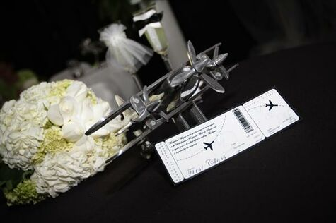 Mark & Megan's Aviation Wedding