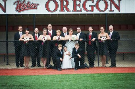 Our Baseball Wedding