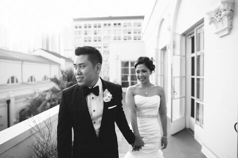 Vibiana Wedding in Downtown Los Angeles