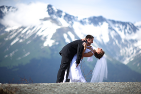 A Summer Solstice Wedding in Alaska