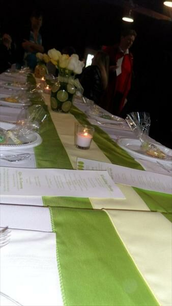 Lemon Lime Themed Wedding in the Park!