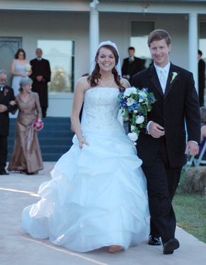 A classic southern wedding on a farm