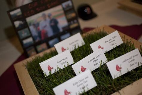 Our Red Sox Wedding!