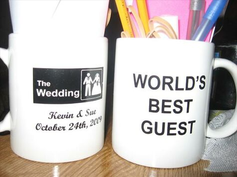Office Themed Wedding