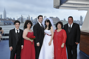 Hudson River Wedding - Alex and Colin