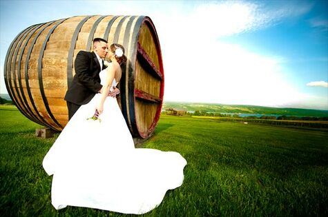 Finger Lakes Winery Wedding